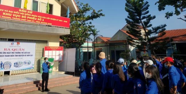 Ra quân hưởng ứng chiến dịch Thanh niên tình nguyện hè, Chủ nhật xanh lần thứ 2 năm 2021