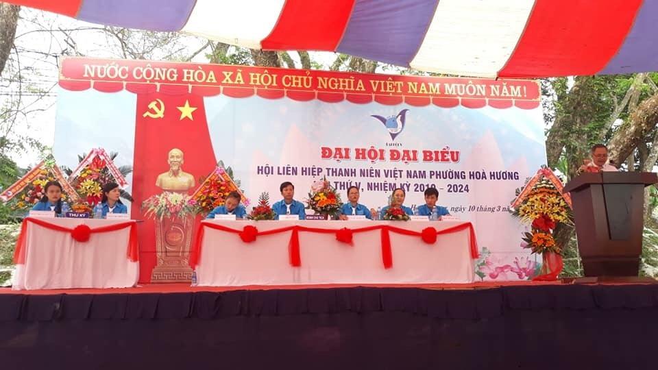 Tam Kỳ: Đại hội Đại biểu Hội LHTN Việt Nam phường Hòa Hương lần thứ V, nhiệm kỳ 2019 - 2024