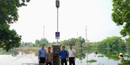 Xây dựng công trình thanh niên tại làng sinh thái Hương Trà