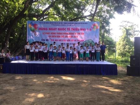 Tam Kỳ tổ chức Diễn đàn trẻ em năm 2019