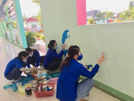 Hòa Thuận: thực hiện mô hình bệnh viện xanh