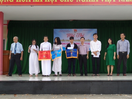 Đoàn trường THPT Lê Qúy Đôn (Tam Kỳ) tổ chức Hội thi tuyên truyền về bình đẳng giới và phòng, chống bạo lực với phụ nữ và trẻ em